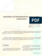 ASSISTENCIA EM ENFERMAGEM PSIQUIATRICA