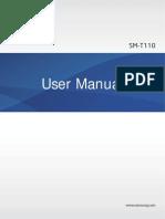 Samsung Galaxy Tab 3 Lite Manual