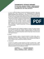 Requerimiento Tecnico Minimo Valvulas y Bridas - Challuayacu