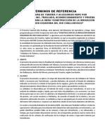 Terminos de Referencia Termofusión y Prueba Hidr - Challuayacu