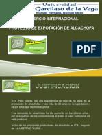 Exportacion de Alcachofas