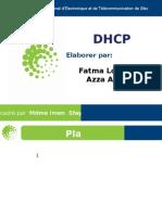 Présentation DHCP Fatma Loussaief Et Azza Allouch