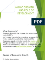 Economic Growth and Role of Development