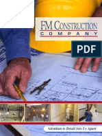 FM Construction Brochure