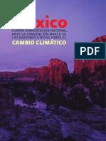 Cuarta Comunicación Nacional de México ante la Convención Marco de las Naciones Unidas sobre el Cambio Climático