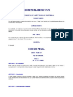 6..Codigo Penal Guatemalteco Decreto Del Congreso 17-73