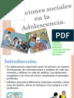 Adolescencia y Desarrollo Social