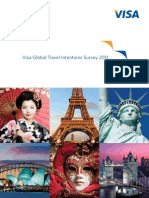 Visa Travel Intentions Report 2011