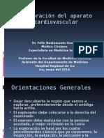 Exploracion Del Aparato Cardiovascula