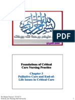 Chapter 3 Palliative Care & End of Life