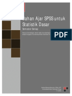 Buku SPSS Universitas Kristen Indonesia Toraja