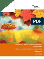 Analisis Fortalezas y Debilidades DAFO Extremadura Fondo Europeo Agricola Desarrollo Rural.pdf