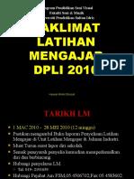 Taklimat LM DPLI 2010