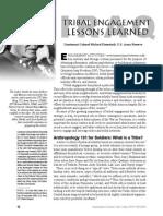 Eisenstadt - Tribal Engagement Lessons Learned