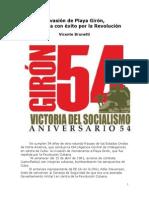 Invasión de Playa Girón rechazada con éxito por la Revolución Cubana