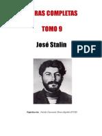 Stalin Obras Tomo 9