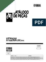 Catálogo de Peças XTZ250X