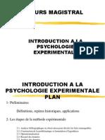 Psychologie Expérimentale