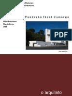 FAU MACKENZIE - TEORIA DA ARQUITETURA II - TRABALHO 1