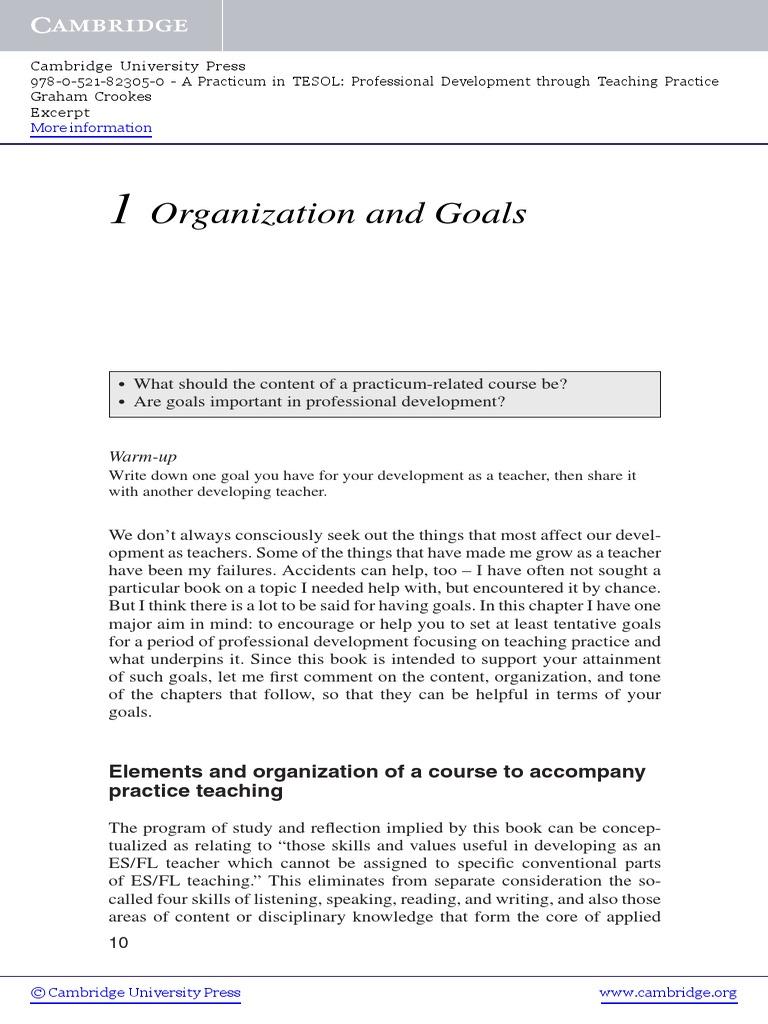 examples of smart goals for esl teachers