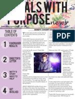 newsletter - portfolio