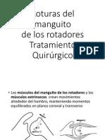 Roturas Del Manguito