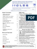 Icicles Newsletter November 2008