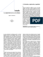 301 - Lewkowicz, Ignacio - Pensar Sin Estado. Cap.4 Exclusión, Explotación, Expulsión