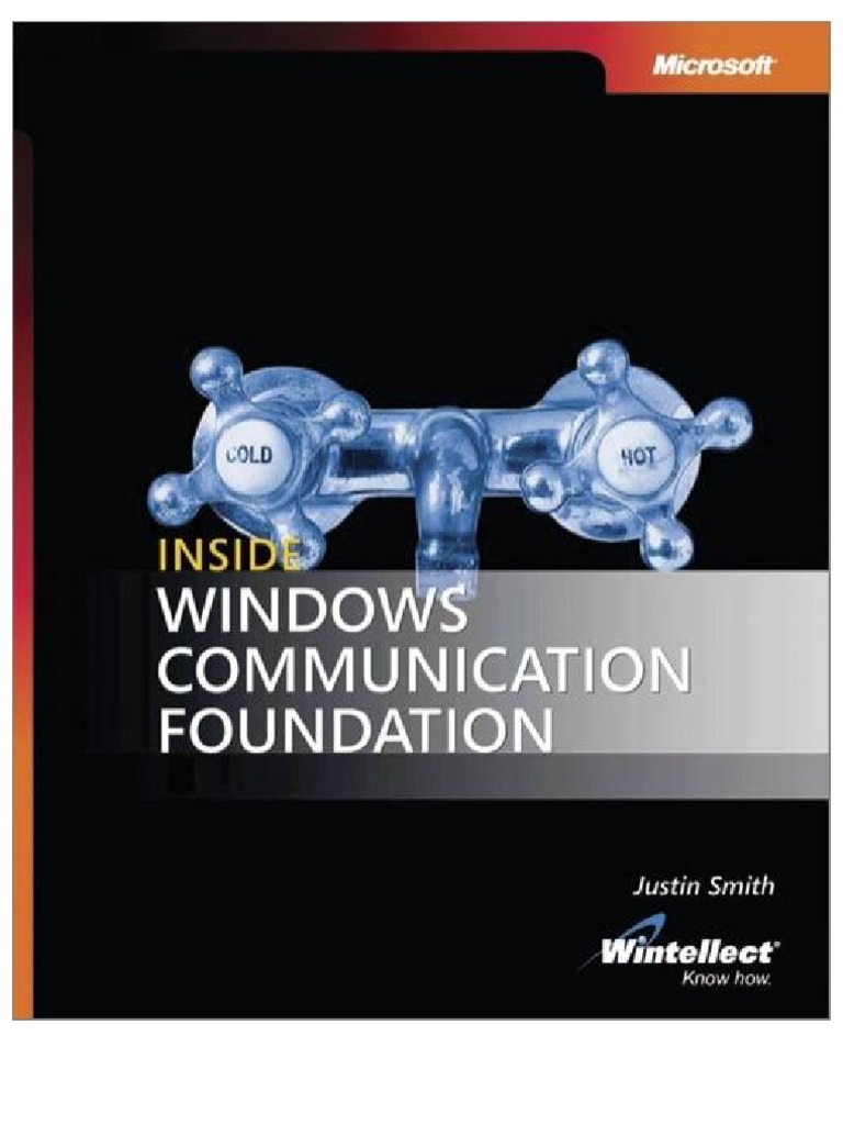 Microsoft Word Credit Reference Template%0A Inside Microsoft Windows Communication Foundation   Windows Communication  Foundation   Service Oriented Architecture
