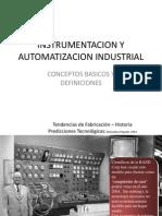 Clase 1 - Introduccion a La Instrumentacion y Automatizacion