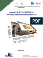 Manualul Utilizatorului SIte APF - Pentru Cursanti