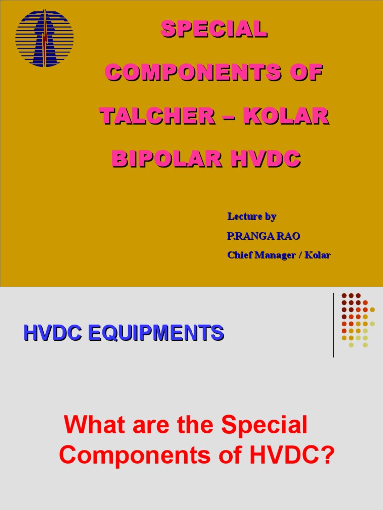 Components Of Hvdc High Voltage Direct Current Capacitor Umax Ups Circuit Diagram