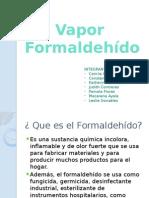 Presentación Vapor formaldehido