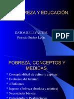 Pobreza y Educacion
