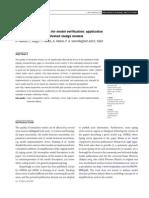 Hauduc Et Al., 2010. a Systematic Approach for Model Verification