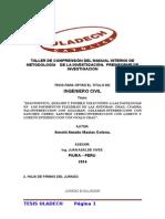 Taller de Comprensión Del Manual Interno de Metodología de La Investigació1