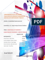 Subsistema de Tesoreria y Subsistema de Inversion y Credito Publico