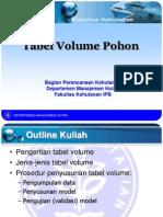 05 Penyusunan Tabel Volume