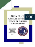 4. Guía PUCP Para Citado de Fuentes