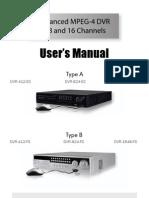 User's Manual Model ES- FS Series