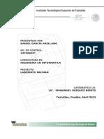 Documentacion Proyecto Pacman