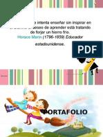 PORTAFOLIO LECTO ESCRITURA