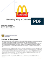 Marketing Mix y El Quinto Elemento