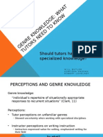 Genre Knowledge3