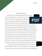feminist poetry genre analysis peer reviewed