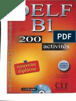 DELF B1 200 Activités CLE International