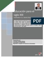 Texto paralelo educación para el siglo XXI