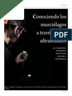 Ossa Et Al. - 2010 - Conociendo Los Murciélagos a Través de Sus Ultrasonidos