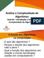 Analise e Complexidade de Algoritmos - Aula 1