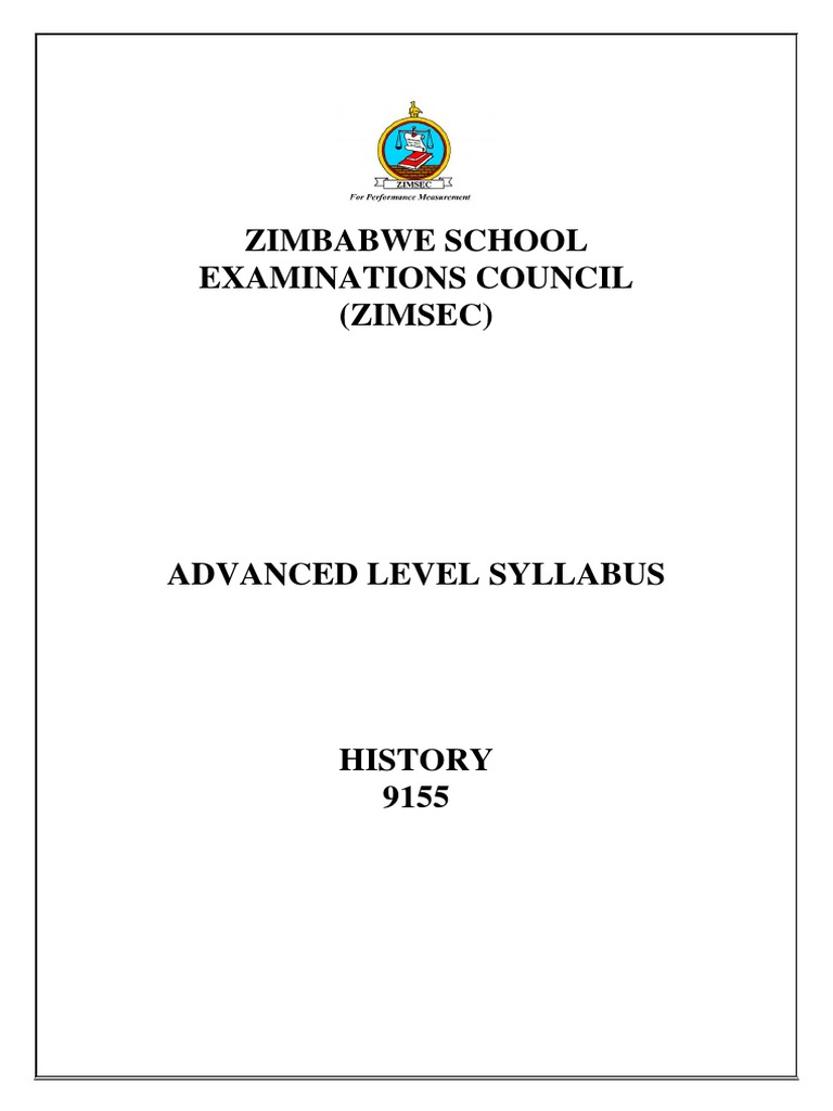 level history zimsec past exam questions
